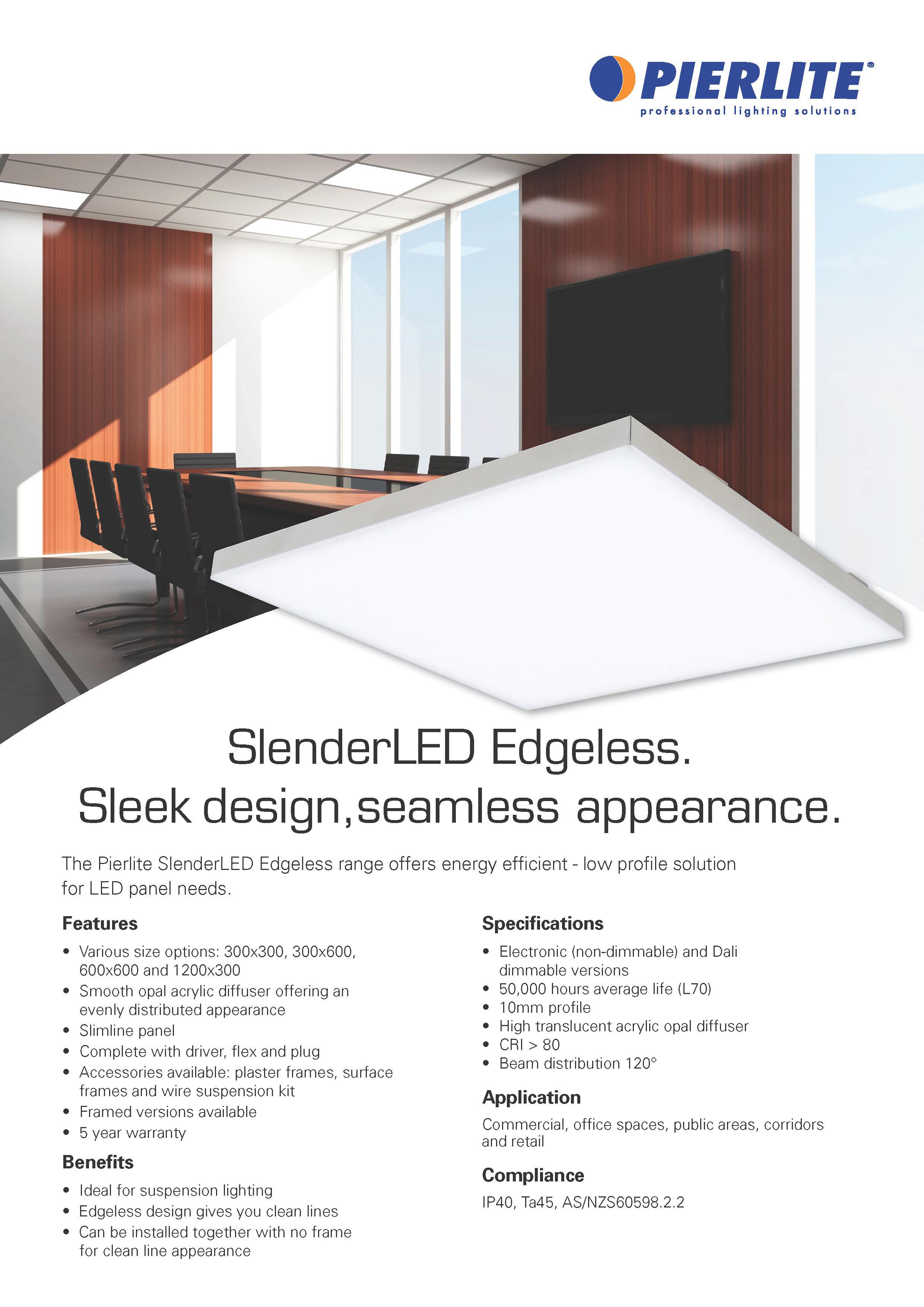 SlenderLED Edgeless | Gerard Lighting